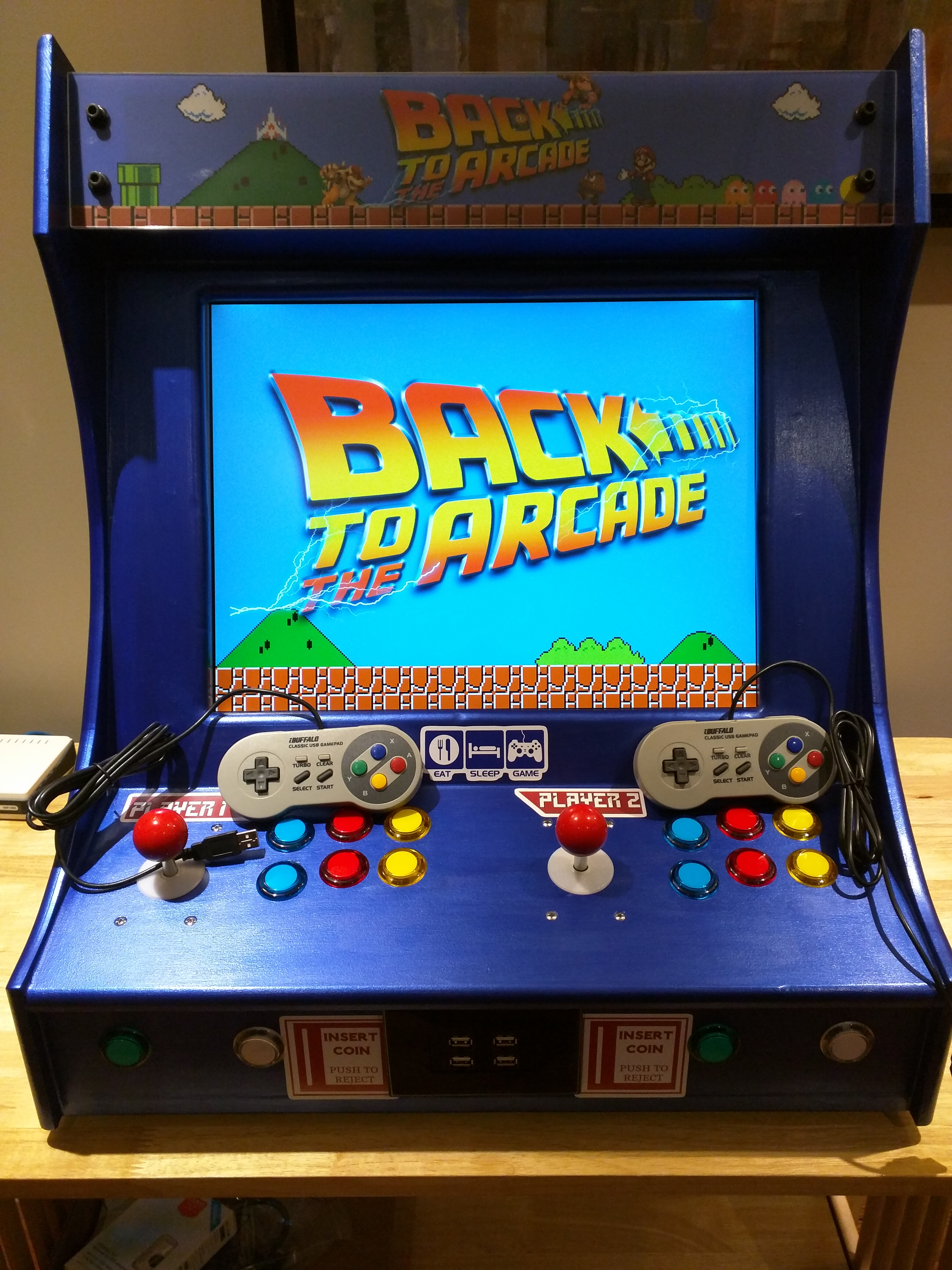 Updated Raspberry Pi Bar Top Arcade Droidkid